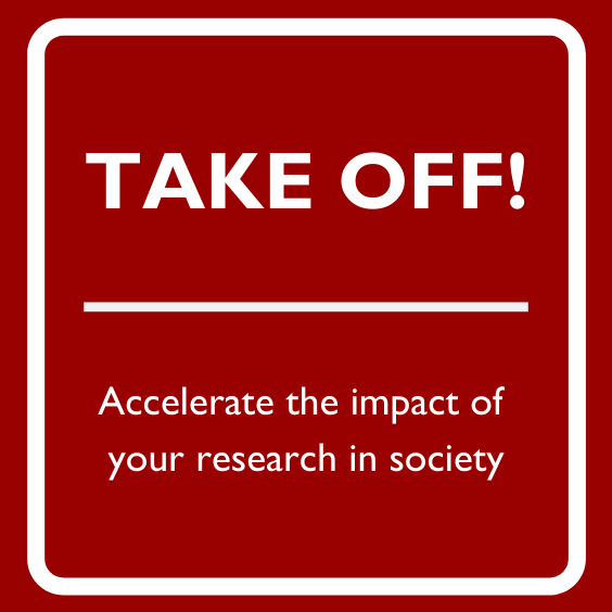 Take Off: How to create impact in society (ONLINE)